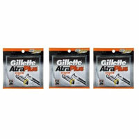 Gillette Atra Plus Refill Razor Blades 10 ct. (Pack of 3) + Yes to Coconuts Moisturizing Single Use Mask