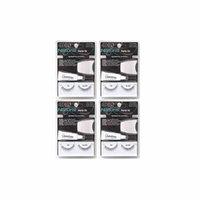 Pack of 4 ARDELL Starter Kit #110 Natural Black Eyelash w/Adhesive 0.09Oz Applicator