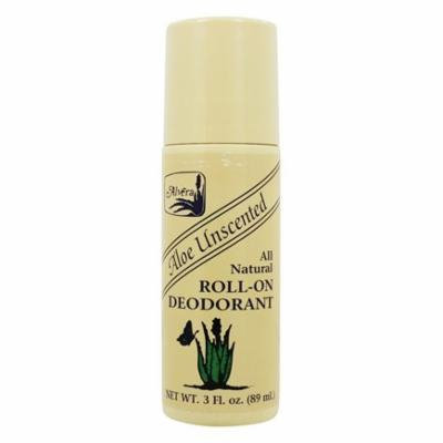 All Natural Roll-On Deodorant Aloe Unscented Unscented - 3 fl. oz. by Alvera (pack of 12)