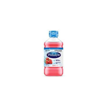 Pedialyte ready-to-feed, retail 1 l bottle, strawberry part no. 53983 (1/ea)