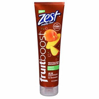 5 Pack Zest FruitBoost Shower Gel Peach Mango 10oz Each