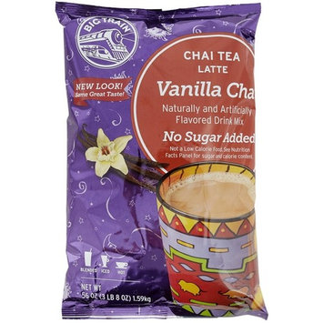 Big Train - Chai Tea - No Sugar Added Vanilla - 2 pack with scoop
