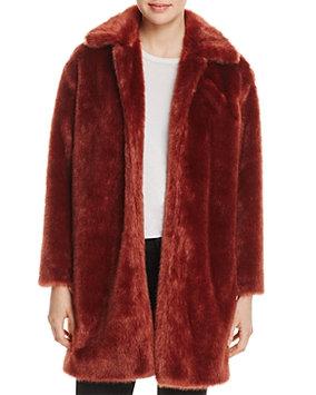 Frame Faux Fur Coat