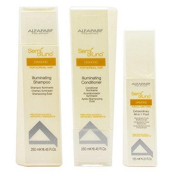 Alfaparf Group Alfaparf Semi Di Lino Diamond Illuminating 3-piece Haircare Set
