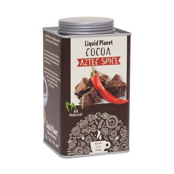All-Natural, Organic Cocoa, Cocoa Powder in 12oz Tin From Liquid Planet (Aztec Spice)