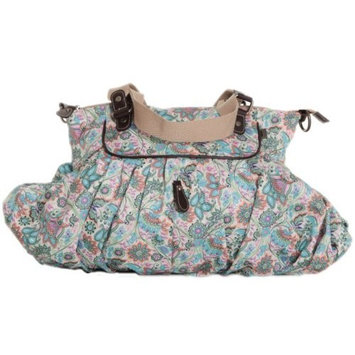 OiOi Diaper Bags Women's Indian Paisley Gathered Tote