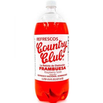 Country Club Raspberry Soda, 2 Lt