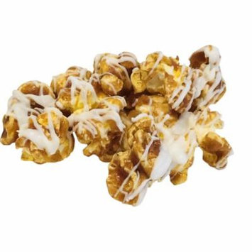 Cinnamon Roll Popcorn with White Chocolate Icing 6 oz Bag Damn Good Popcorn
