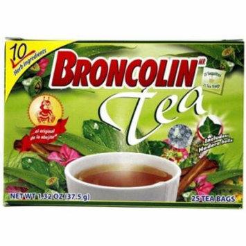 3 Pack - Broncolin Tea Bags 25 ea