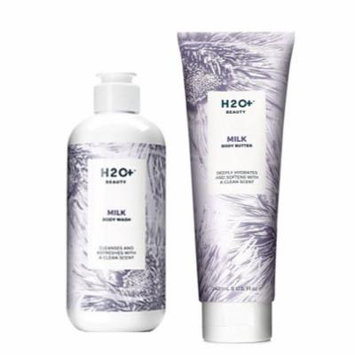 H2O Milk Body Butter And Milk Body Wash Clean Scent