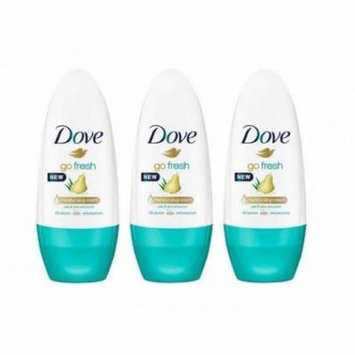 Dove Roll-on Pears & Aloe 50 Ml (Pack Of 3)