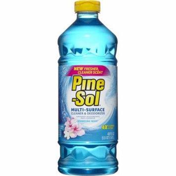 (3 pack) Pine-Sol Multi-Surface Cleaner, Sparkling Wave, 48 Fluid oz Bottle