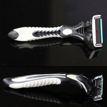 3Pcs Men Safety Classic 6 Layers Shaving Hair Blade Razor Stainless Steel