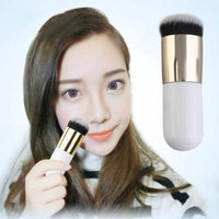 Fat Cute Flat Foundation Face Powder Contour Make up Brush Cosmetic Tool