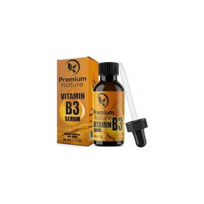 Vitamin B3 Facial Serum Niacinamide 5% - 1oz Moisturizing Face Cream Pore Tightener Wrinkle Reducer & Collagen Booster Antiaging - for Dark Spots Breakouts Acne Fine Lines Age Spots Premium Nature