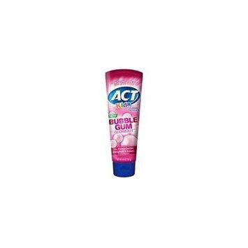 ACT Kids Bubblegum Blowout Toothpaste 4.6oz Each