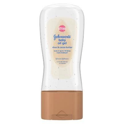 Johnson's® Baby Oil Gel With Shea & Cocoa Butter For Baby Massage - 6.5 fl oz
