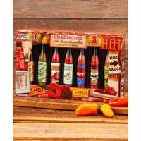 7-Pc. Hot Sauce Gift Sets - Roadhouse