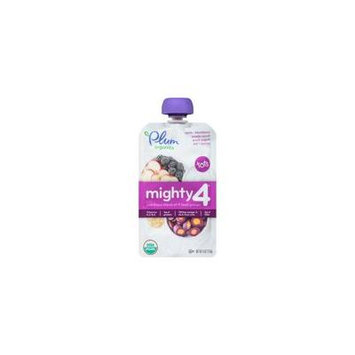 Plum Organics Mighty 4 Purple Carrot, Blackberry, Quinoa & Greek Yogurt Tots Snack - 4oz