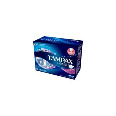 Tampax Pearl Plastic Unscented Ultra Absorbency Tampons - 36ct