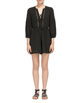 Whistles Mimi Ladder Stitched Romper
