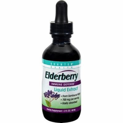 Quantum Elderberry Immune Defense Extract - 2 Fl Oz