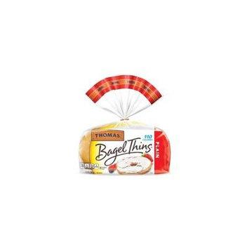 Thomas® Plain Pre-Sliced Bagel Thins - 8ct