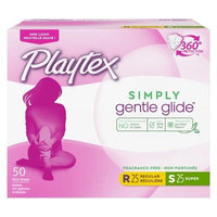Playtex Gentle Glide Plastic Unscented Multipack Tampons 50-ct.