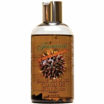 Organic Jamaican Peppermint with Black Castor Oil for dandruff & dry scalp