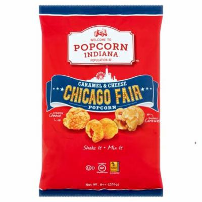 Popcorn Indiana Popcorn Carmel & Cheese,8 Oz (Pack Of 12)