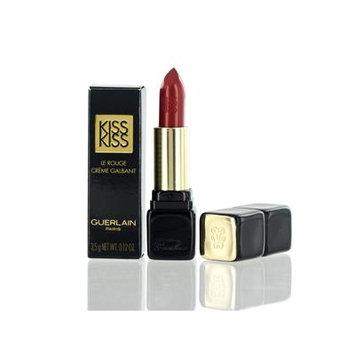 GUERLAIN KISS KISS CREAMY SATIN FINISH LIPSTICK (321)RED PASSION 0.12 OZ