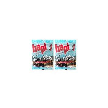 Japanese Hapi Traditional Rice Cracker Mix 2 Pack (Nori Maki 2oz)