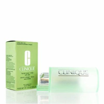CLINIQUE FACIAL SOAP WITH DISH MILD 3.3 OZ