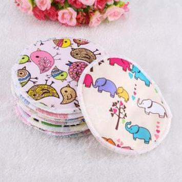 Yosoo 12pcs Soft Washable Bamboo Fiber Anti-spill Breastfeeding Pads Maternity Nursing Pad, Nursing Pads,Breastfeeding Pads