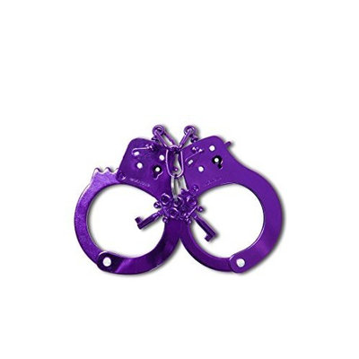 Fetish Fantasy Anodized Cuffs, Purple