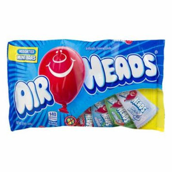 Air Heads Assorted Mini Bars (Pack of 16)