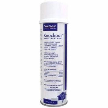 Virbac KnockOut Area Treatment 14oz Spray Kills Active Fleas & Ticks