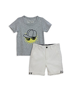 Sovereign Code Boys' Parway + Harding Tee & Shorts Set - Baby