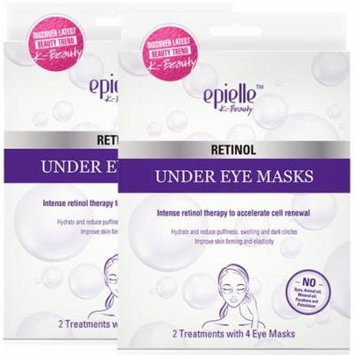 Epielle Retinol Under Eye Mask, 2ct (2 pack)