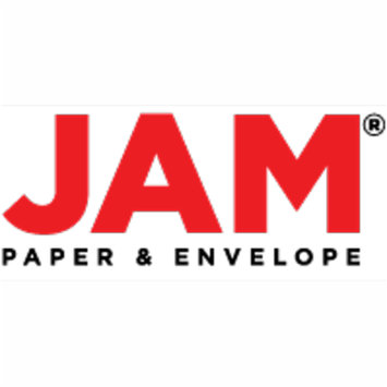 JAM Paper Colored Jumbo Paper Clips, Large 2 Inch, Orange Paperclips, 2/pack