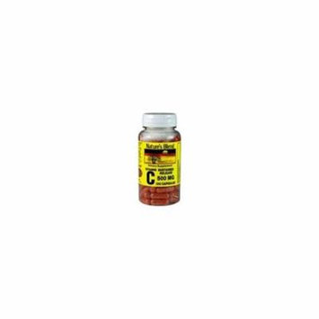 Nature's Blend Vitamin C Sustained Release 500 mg 100 Capsules