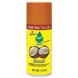 Vehicle Freshen Up UAL09017 Coconut Little Tree In A Can
