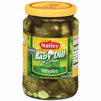 (2 Pack) Nalley® Baby Dill Wholes Pickles 24 fl. oz. Jar