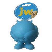 JW Pet Bad Muscles Cuz Dog Toy Medium - 4 Tall (Assorted Colors) - Pack of 10