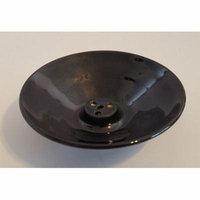 Shoyeido Obsidian 4-Hole Stick Ceramic Incense Burner, For Zen/Tibetan/Thicker