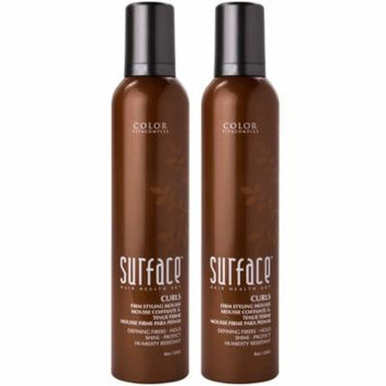Surface Curls Firm Styling Mousse 8.8 oz - Pack of 2