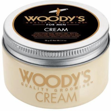 3 Pack - Woody's Flexible Styling Cream for Men 3.4 oz