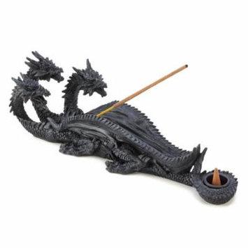 Dragon Incense Burner Holder, Resin Three Headed Dragon Stick Incense Burner Hol (Sold by Case, Pack of 12)
