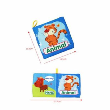 Iuhan New Soft Cloth Baby Intelligence Development Learn Picture Cognize Book F