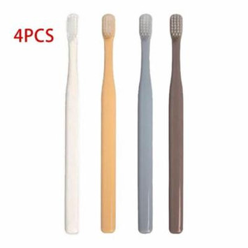 K-8785 Soft Bristle Small Head Toothbrush 4 PCS Multi-Color Tooth Brush Portable Travel Eco-friendly Brush Tooth Care